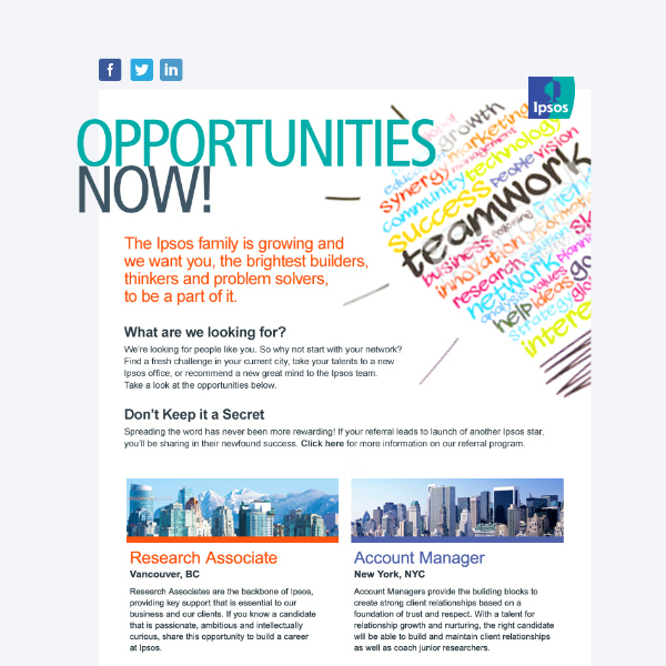 Opportunities Now